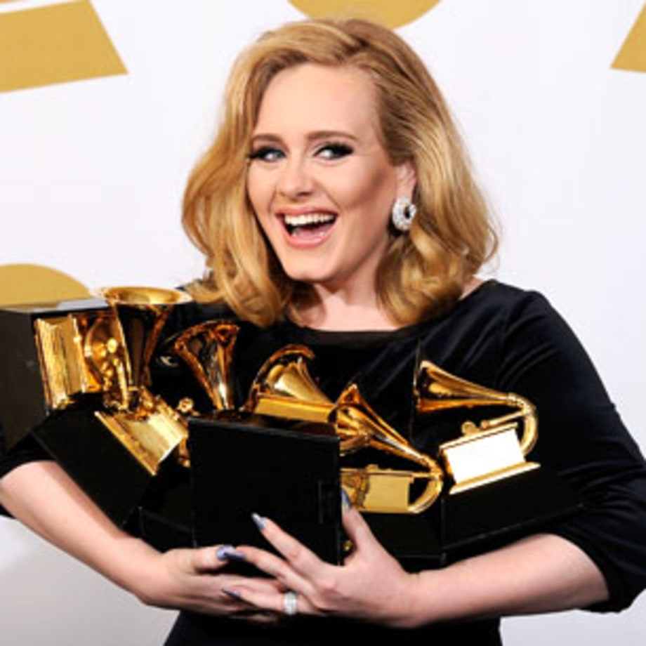 2012 Adele sweeps the Grammys