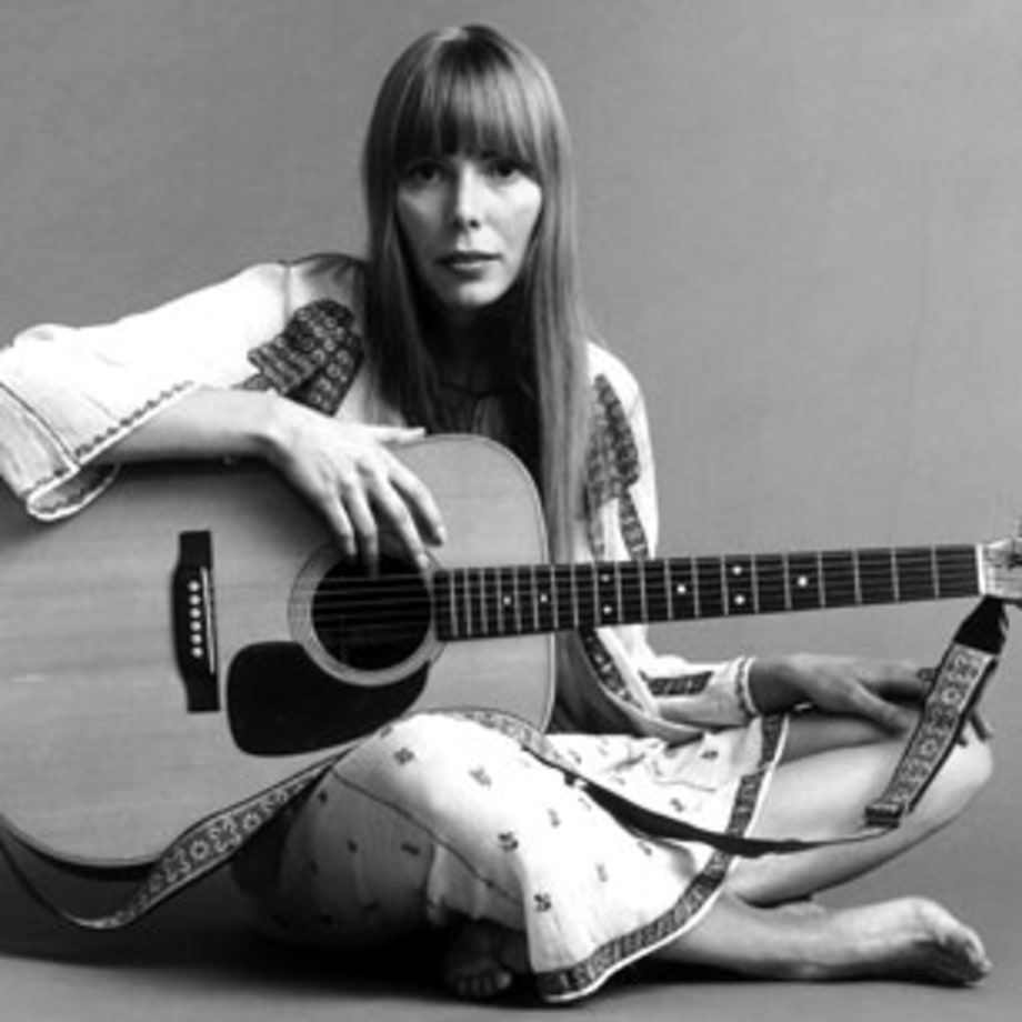 1968 Joni Mitchell Releases Her First Album
