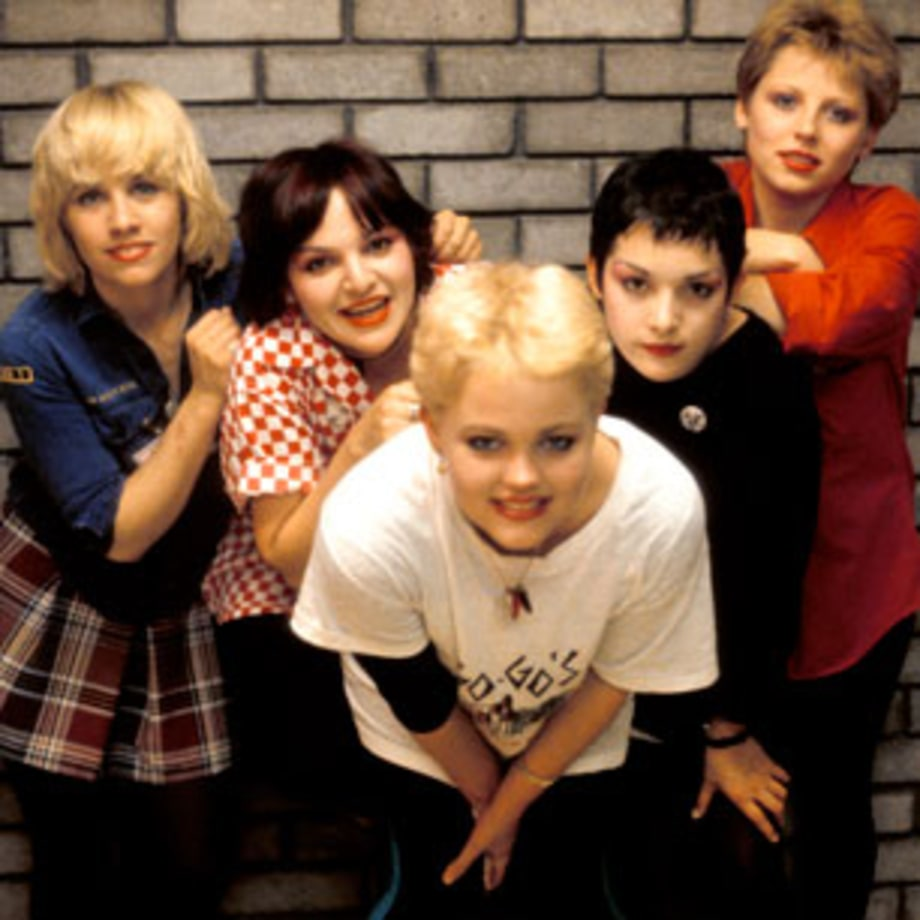 1982 The Go-Go's crash the Top Forty with