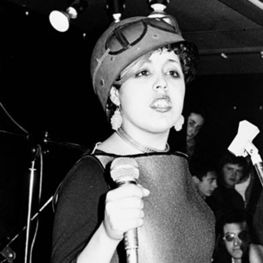 1978 Poly Styrene, a London kid with braces, rocks out with X-Ray Spex