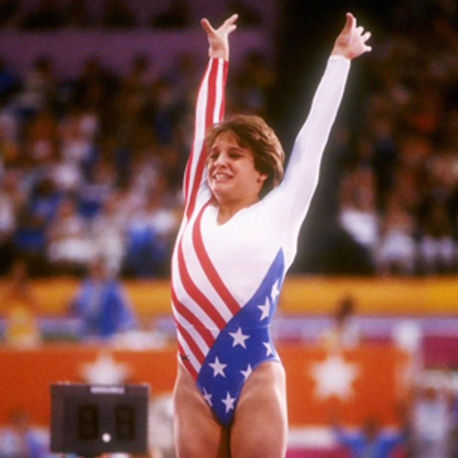 Mary Lou Retton Earns All-Around Title (Los Angeles 1984)