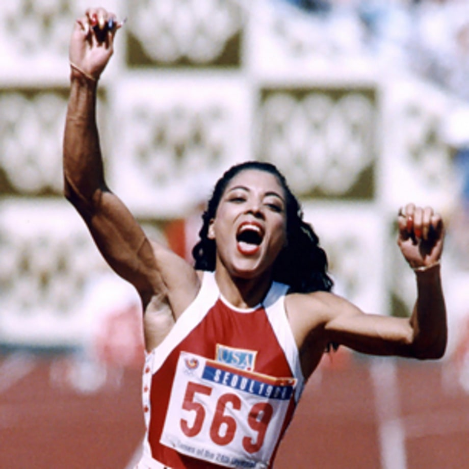 Florence Griffith-Joyner Becomes 'The Fastest Woman Of All Time' (Seoul 1988)