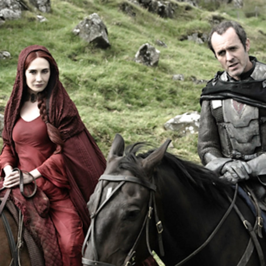 'Game of Thrones': Melisandre and Stannis (Season 2, Episode 2)