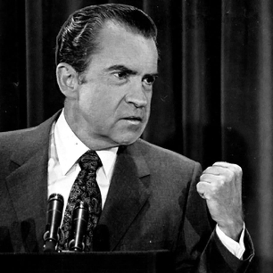 Richard Nixon Watchmen: A Brief History Of Presidential Profanity