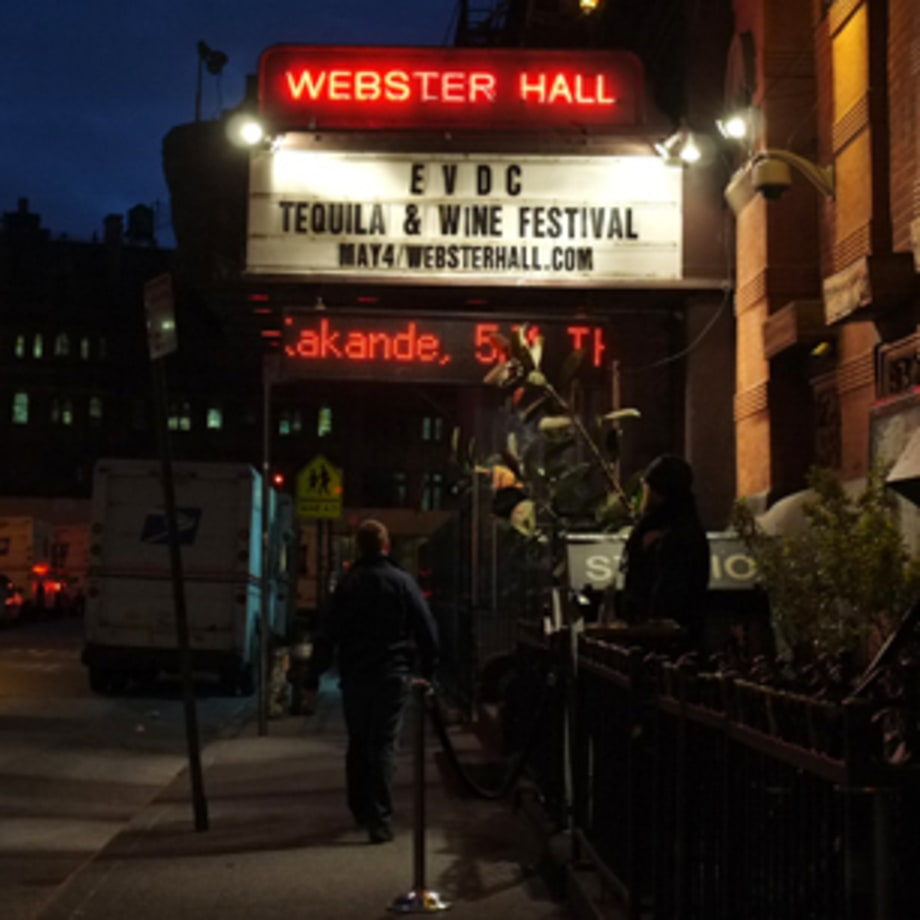 Webster Hall in New York