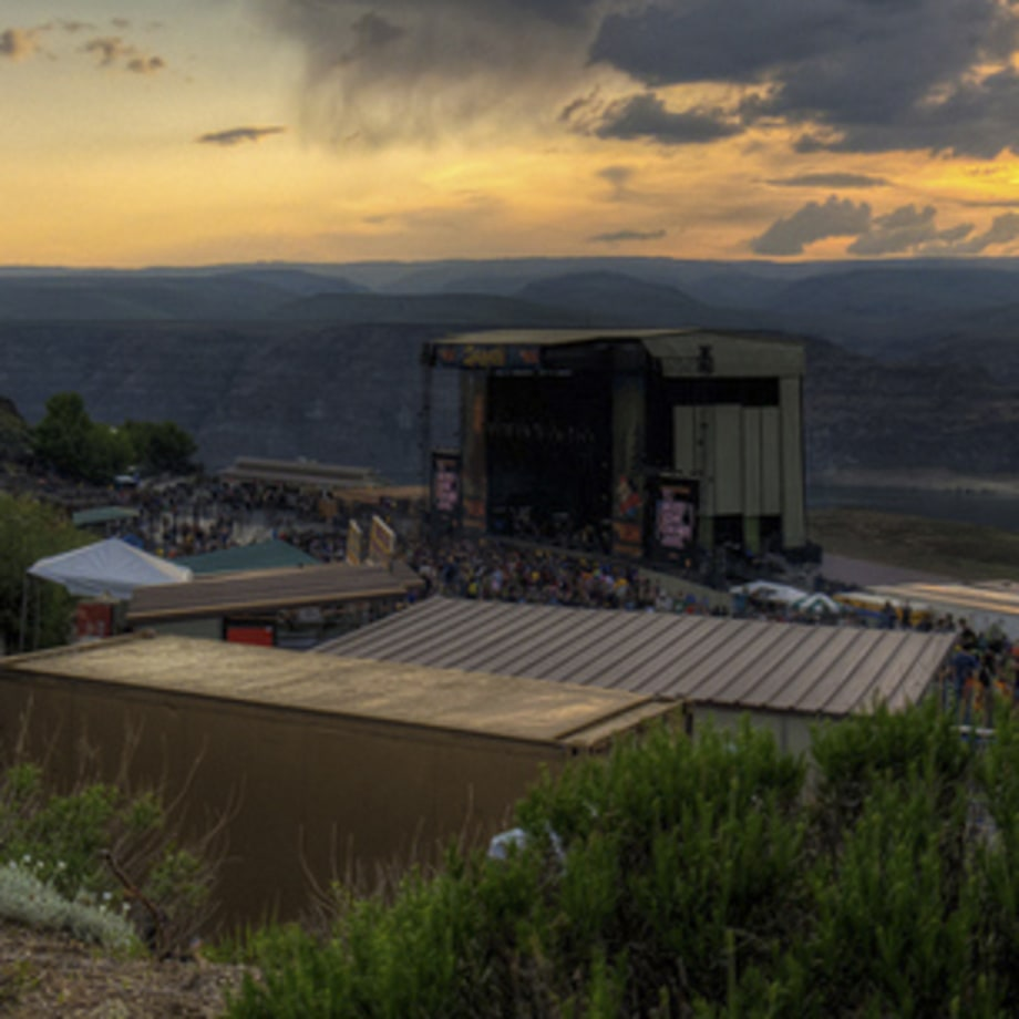 Gorge Amphitheatre, George, Washington