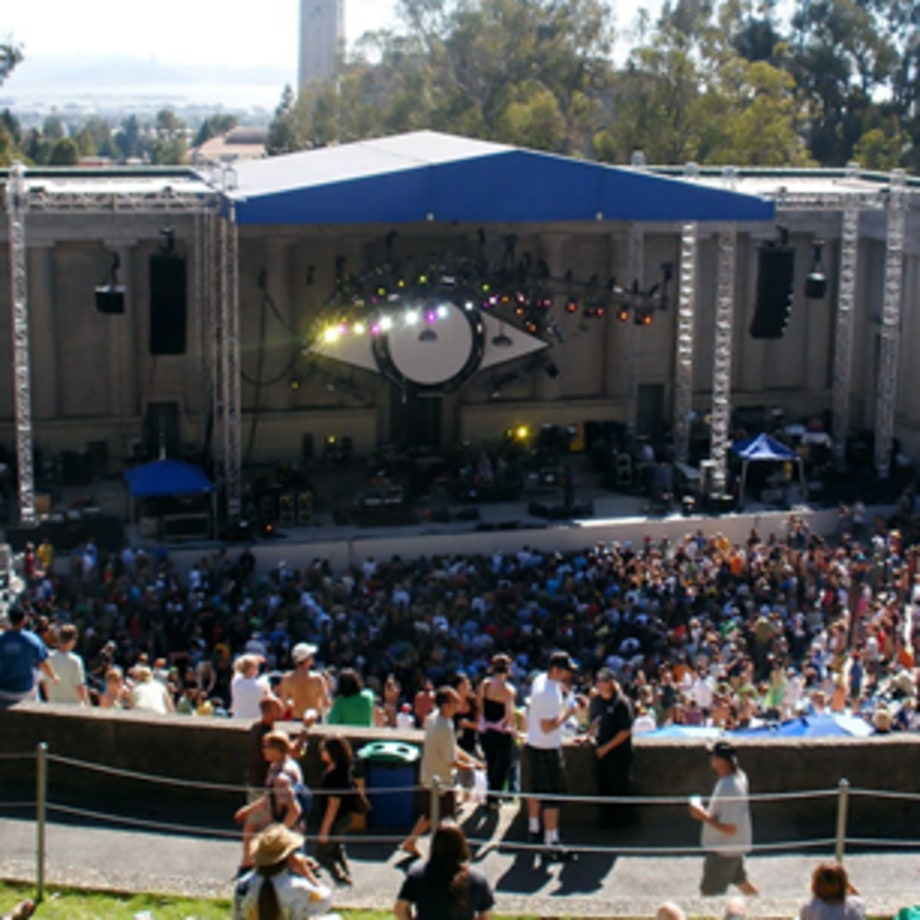 Greek Theatre, Berkeley, California