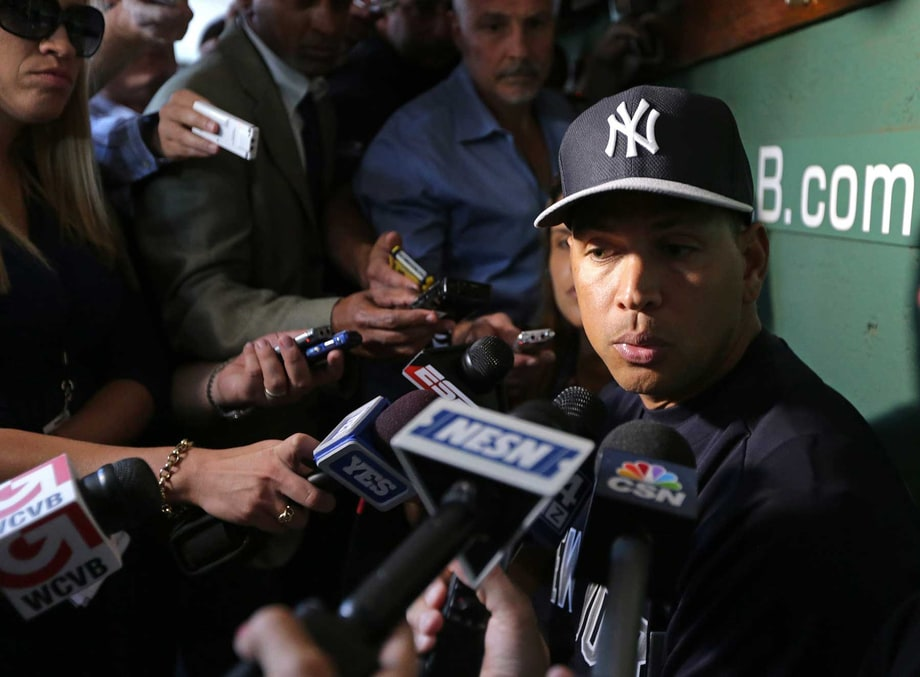 Alex Rodriguez's Record-Setting Suspension