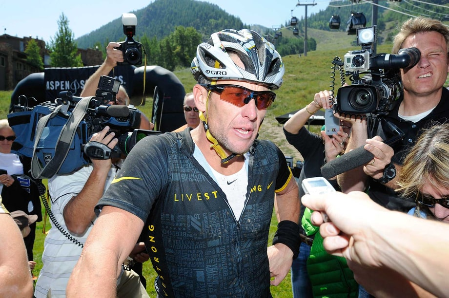 Lance Armstrong Admits to Lying