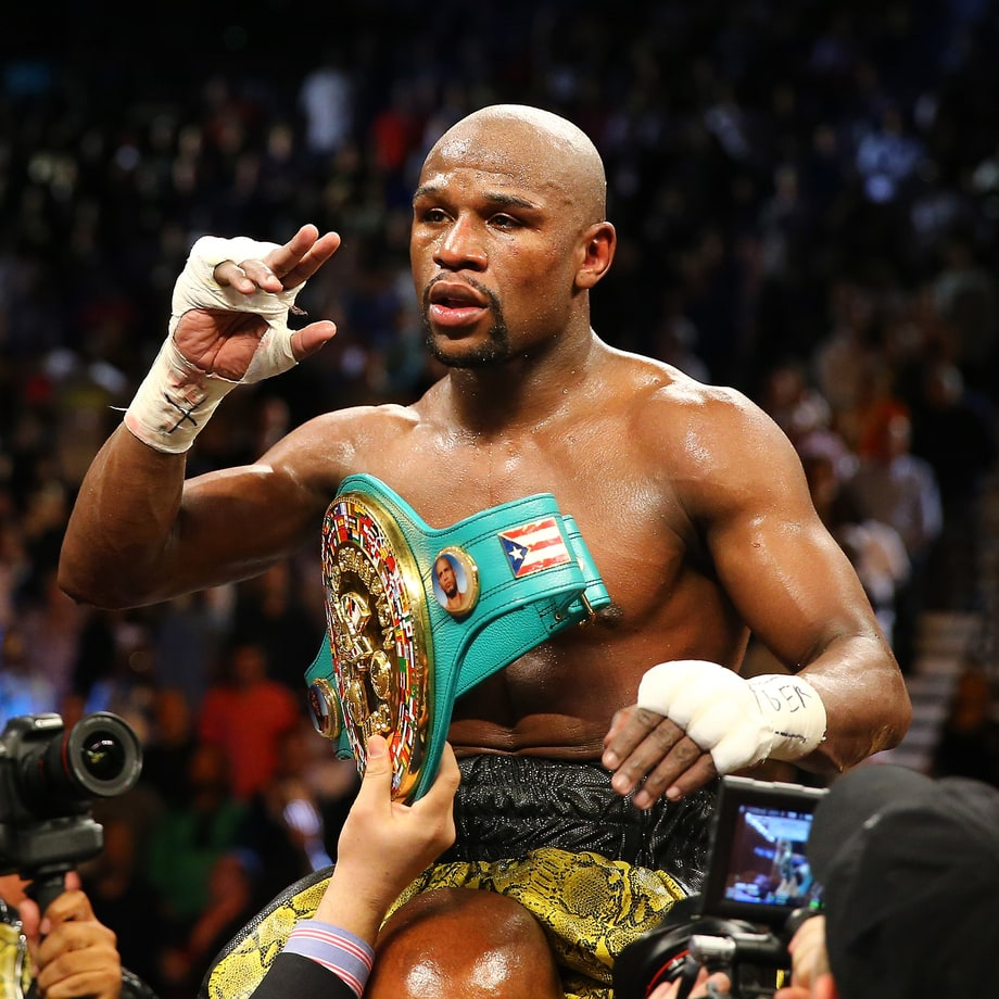 Floyd Mayweather, Jr. (Boxing Champion)