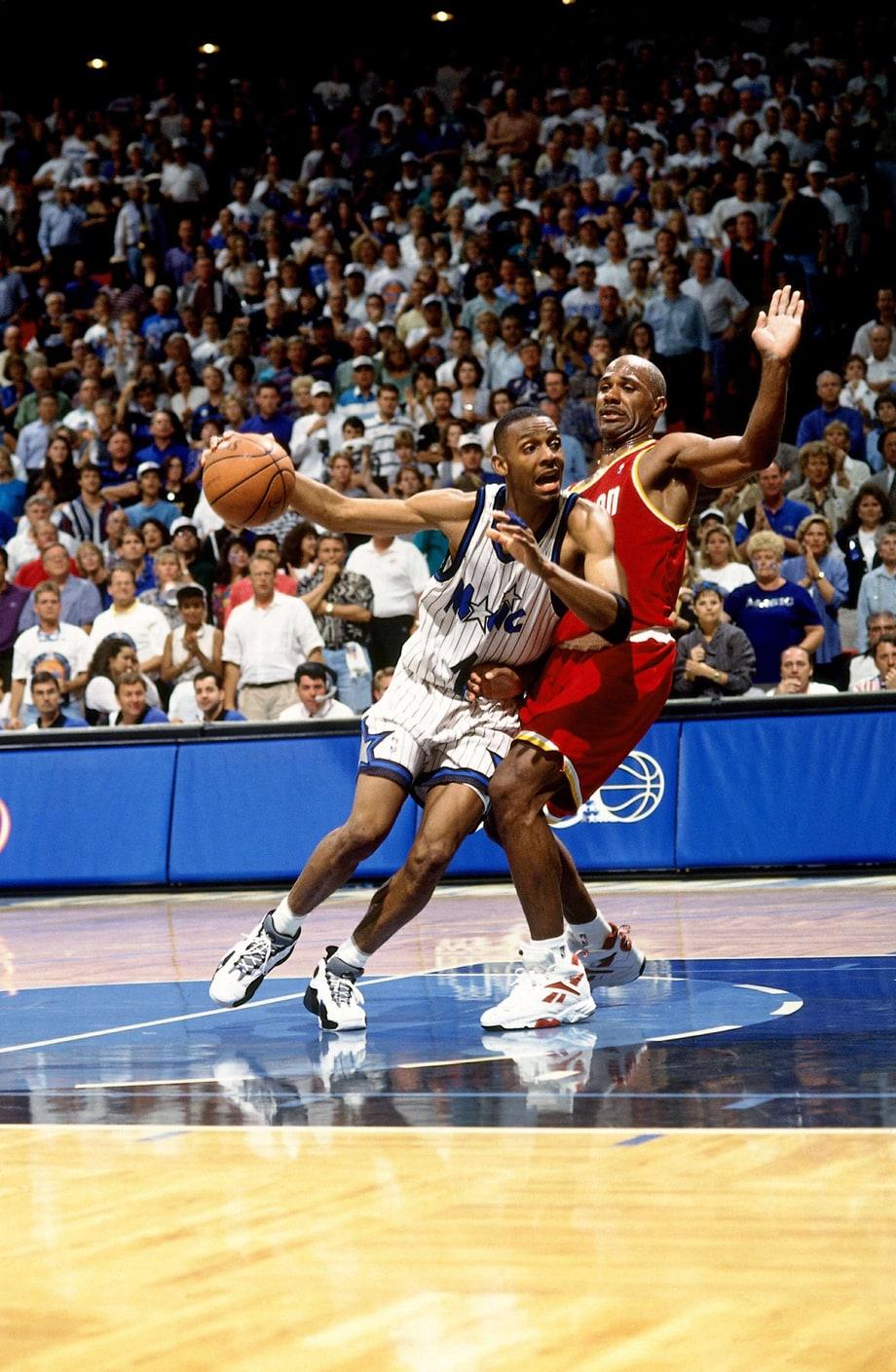 Houston Rockets Defeat Orlando Magic (1995)   14 Biggest NBA Playoff Upsets   Rolling Stone