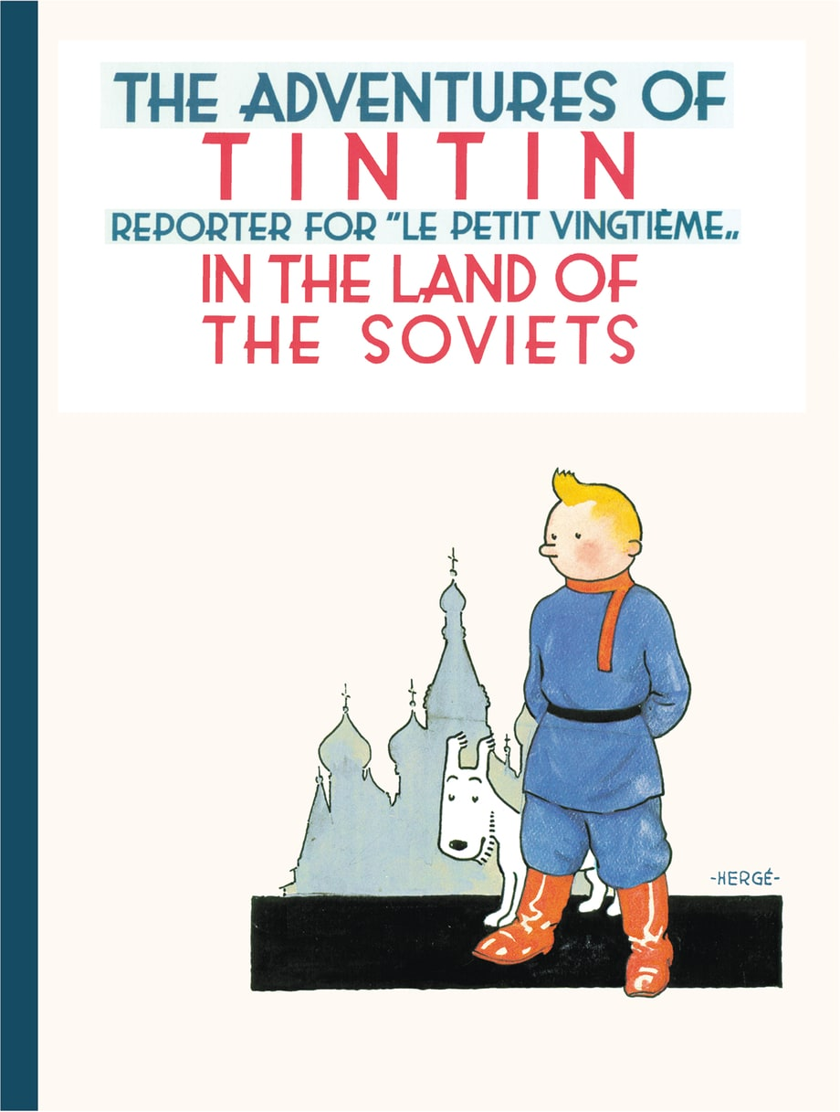 'The Adventures of Tintin,' Hergé