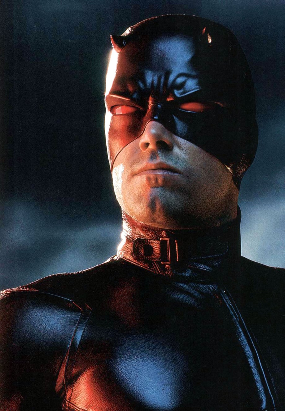 Putting The Daredevil Mask On Ben Affleck Superhero