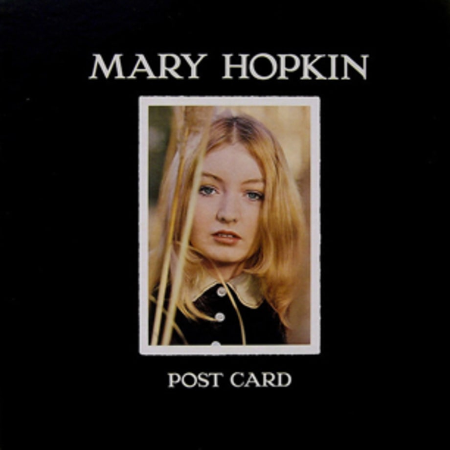 Mary Hopkin Post Card 20 Albums Rolling Stone Loved