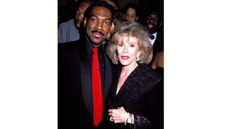 Odd Couple: Eddie Murphy And Joan Rivers (1983)