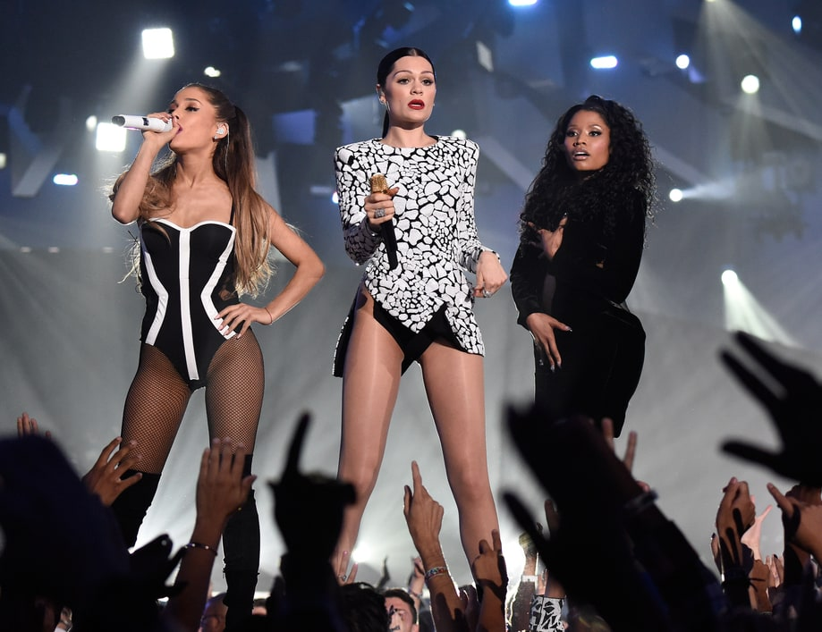 BEST: Ariana Grande, Nicki Minaj & Jessie J's Pop Collage