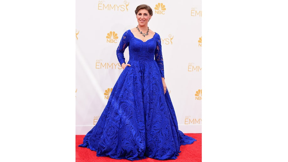 HONORABLE MENTION: Most Confusing - Mayim Bialik