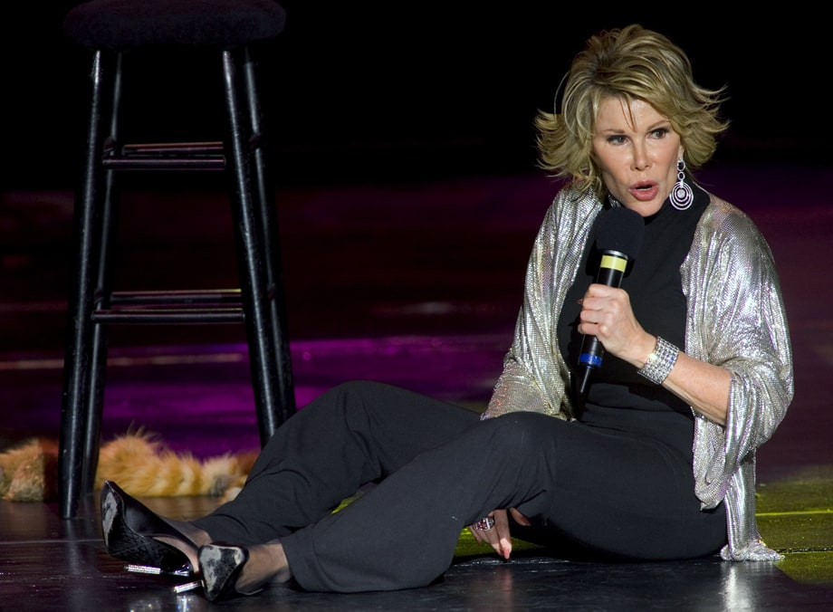 Joan Rivers at Home On-Stage