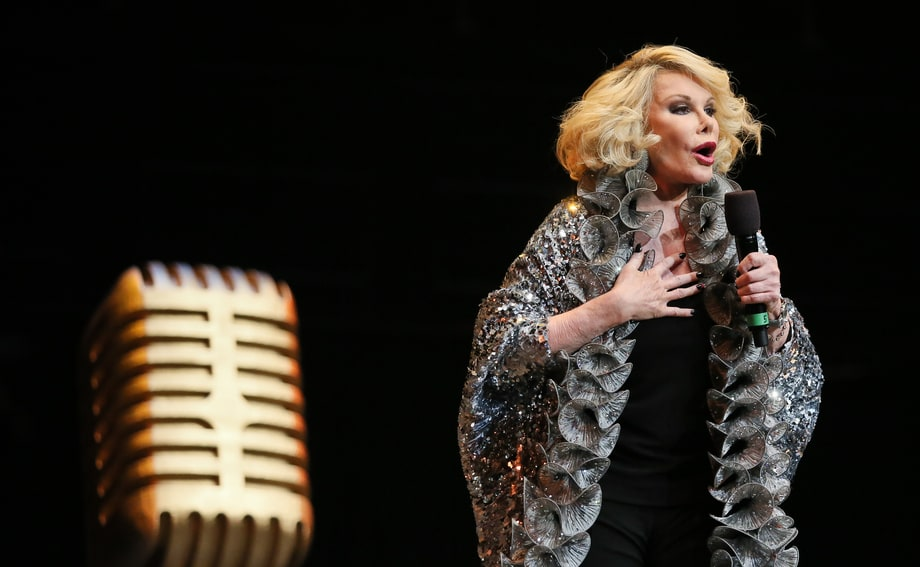 Joan Rivers' Life in Photos