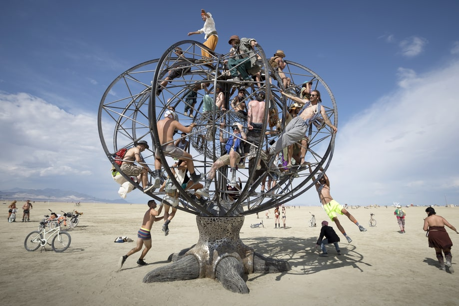 Tree Of Life Burning Man 2014 S Trippiest Photos