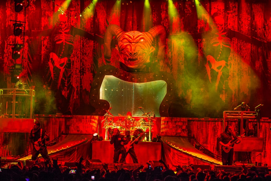 Slipknot Take the Stage