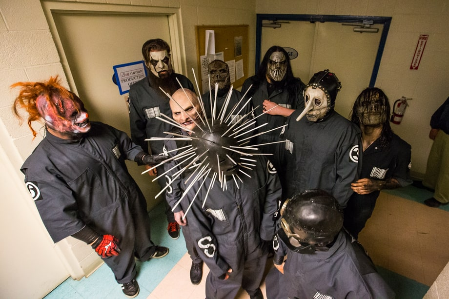 Slipknot Backstage