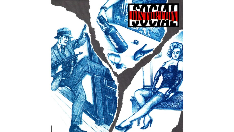 Social Distortion, 'Social Distortion' (1990)