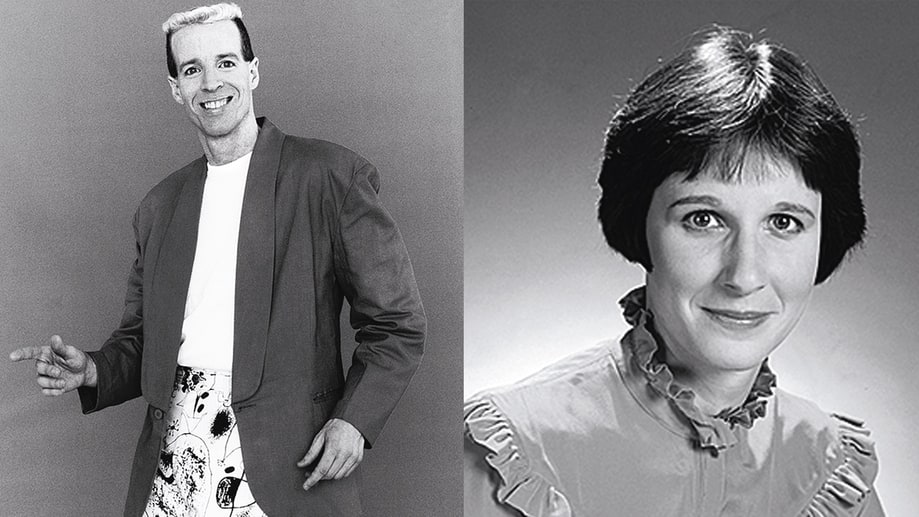 64-65. The Two Nancys: Terry Sweeney and Mary Gross