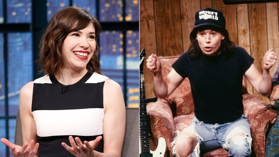 Carrie Brownstein on 'Wayne's World'
