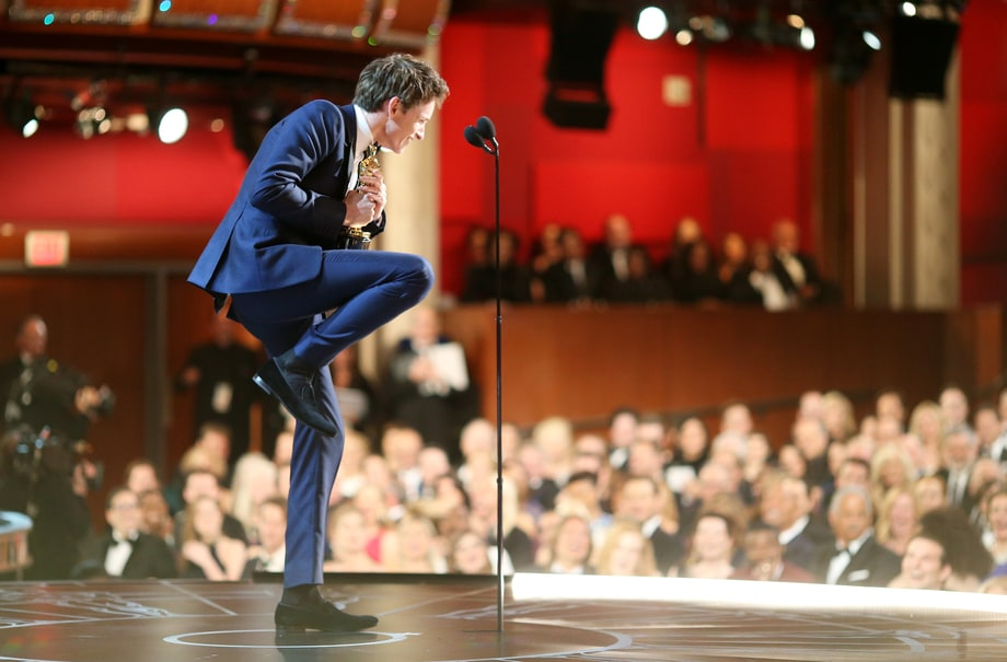 Worst: Eddie Redmayne Losing It
