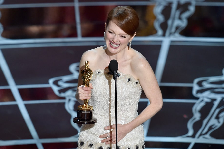 Best: Julianne Moore's 'Five Years Younger' Joke