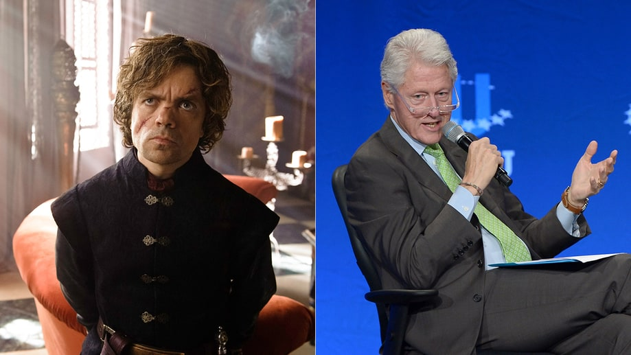 Tyrion Lannister/Bill Clinton