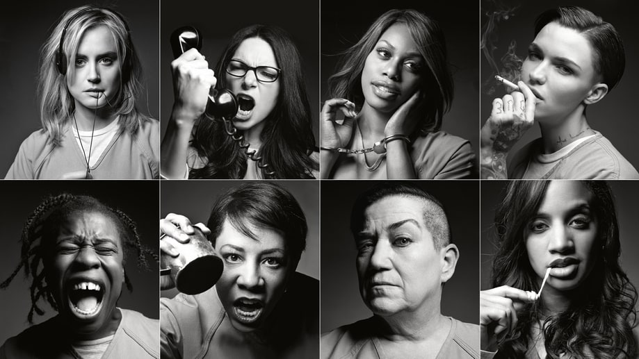 'Orange Is the New Black': The Rolling Stone Photo Shoot