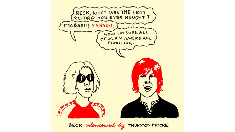 Beck and Thurston Moore