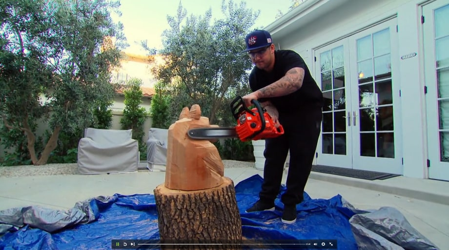 Rob Is a Chainsaw Artist