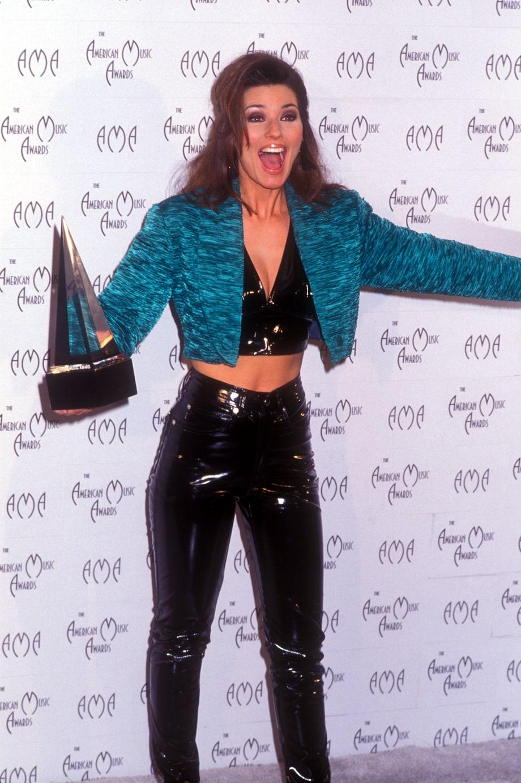 1996 American Music Awards Shania Twain At 50 See The