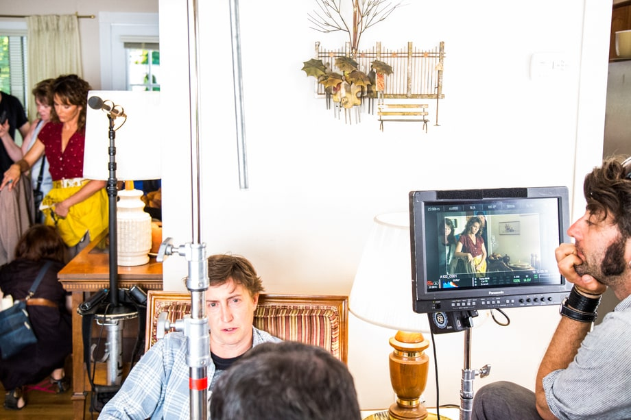Director David Gordon Green, on 'Red Oaks' set