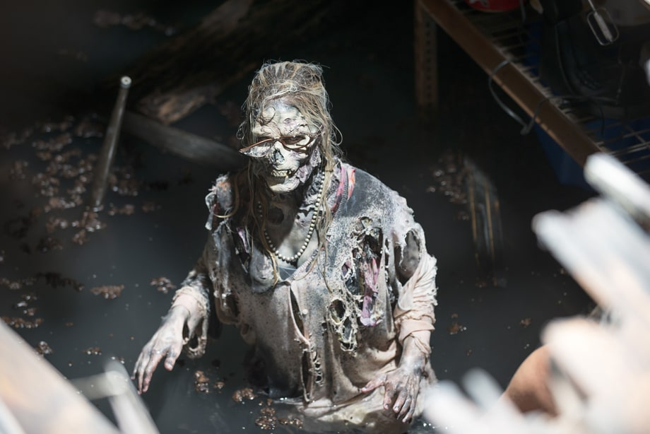 Drowned Food Pantry Zombie (Season 5, Episode 2: 'Strangers')