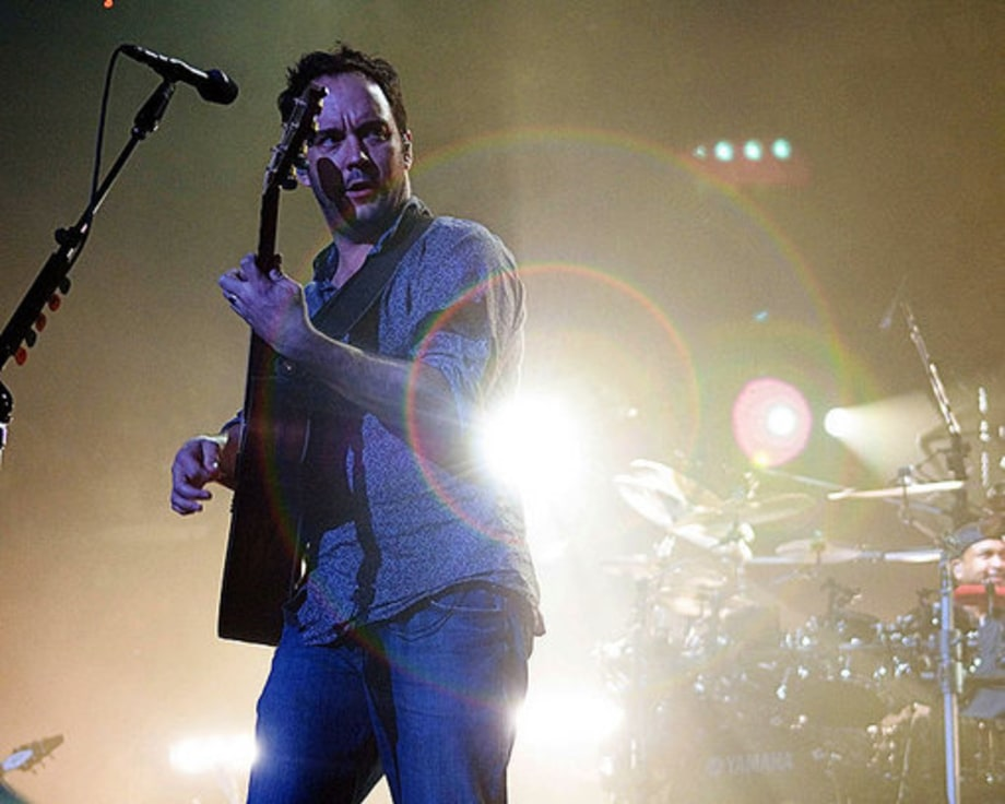 Dave Matthews Band Debut Tunes, Honor GrooGrux King at MSG