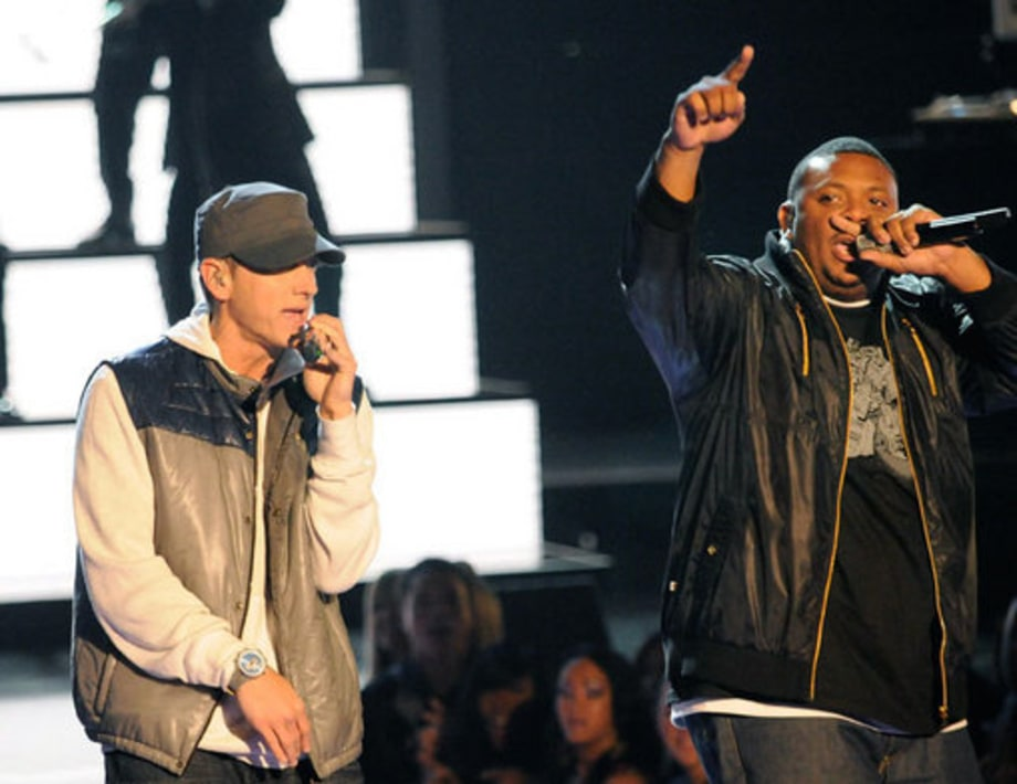 MTV Movie Awards '09: Big Moments, From Eminem's Crotch Encounter to Kings of Leon's Scorching Song