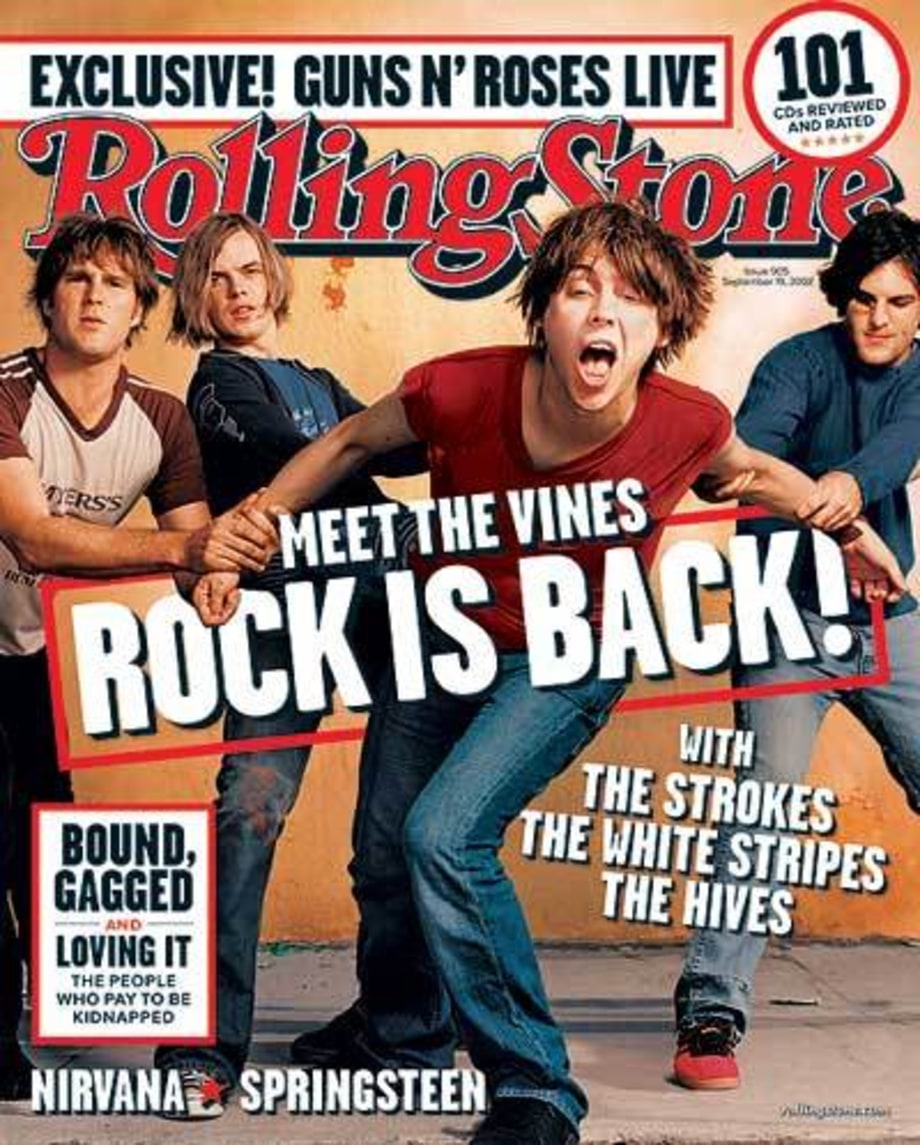 2002 Rolling Stone Covers