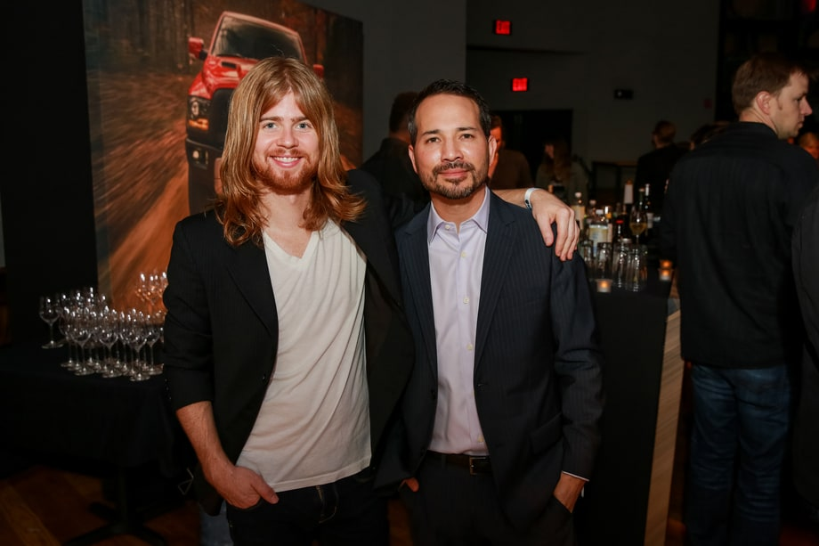 Andrew Leahey and Dave Brainard