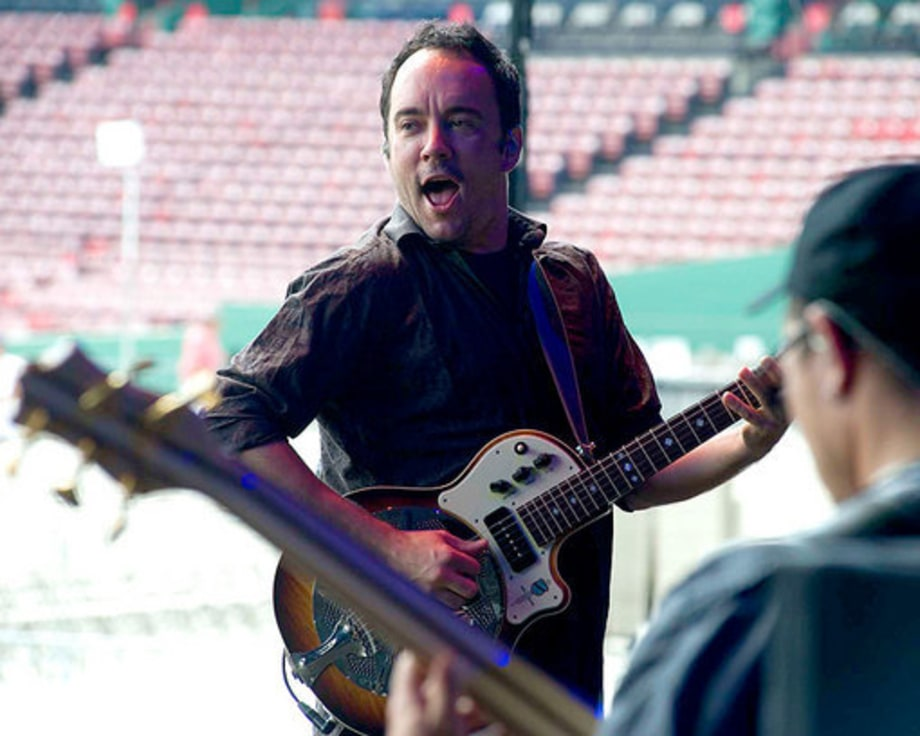 Dave Matthews Band: On the Road at Fenway Park With Willie Nelson