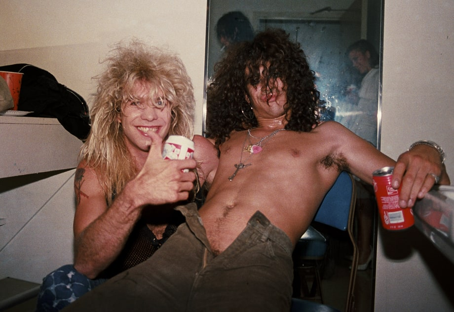 August 1986: Slash Gets the Point