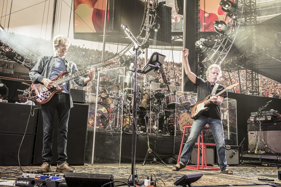 Trey, Bob and Phil (Chicago, July 3rd) Photo - Grateful