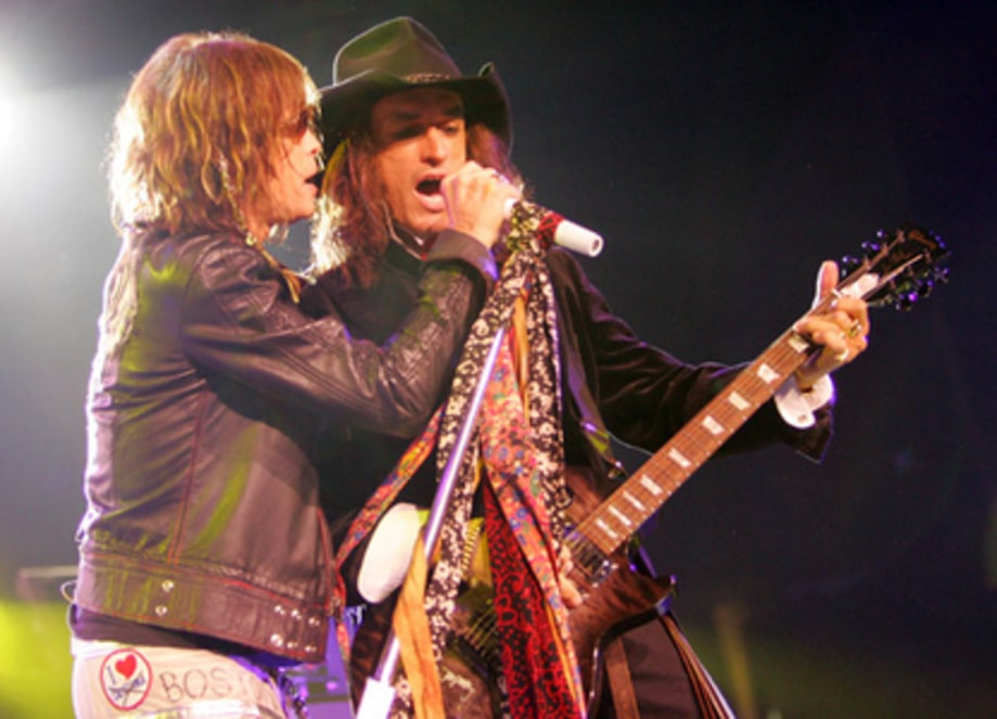 Aerosmith and Kravitz Keep the Train Rollin'