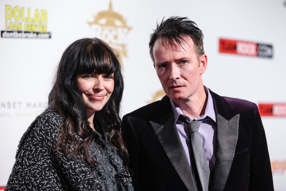 Jamie Wachtel and�Scott Weiland in an event