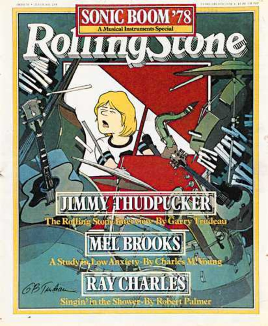 1978 Rolling Stone Covers
