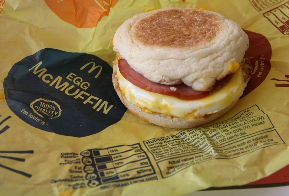 McDonald's Breakfast Menu, Ranked