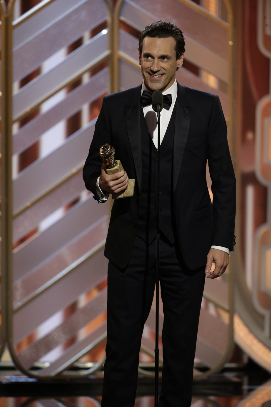 Best: Jon Hamm Takes Home One Last Statuette for 'Mad Men'